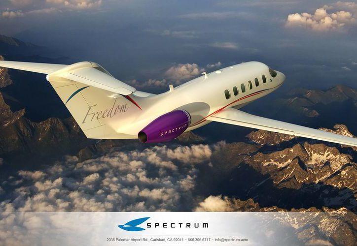 La fabricante Spectrum pretende construir entre 4 y 5 aviones en el primer año y luego alrededor de 25 anualmente. (Imagen de contexto tomada de spectrum.aero)