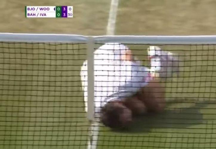 Llevan a Neymar a Wimbledon. (Foto: Captura video)
