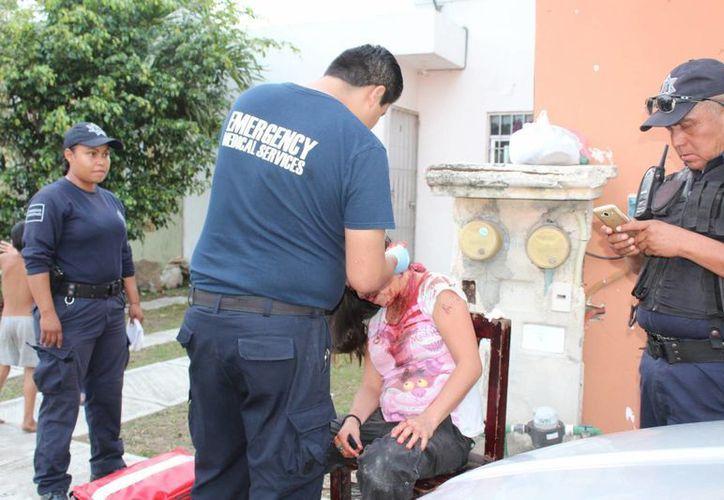 La mujer pidió dinero a su pareja, y este terminó golpeándola fuertemente. (Foto: Redacción/SIPSE)