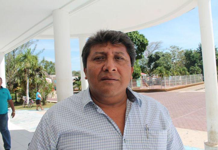 El dirigente de la CTM dijo que ha realizado reuniones con las autoridades de transporte. (Raúl Balam/SIPSE)