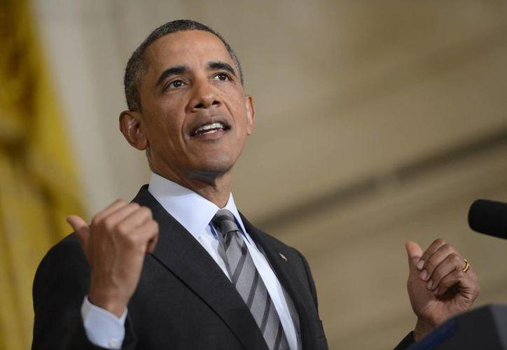 """Obama ha insistido recientemente en que 2014 debe ser un """"año de acción"""" tras la escasez de logros de 2013. (EFE)"""