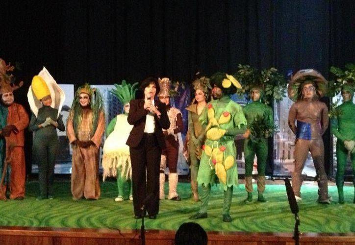 """""""¡Qué Plantón! el musical"""" dejo con gran sabor de boca a todos los asistentes. (Jorge Carrillo/SIPSE)"""