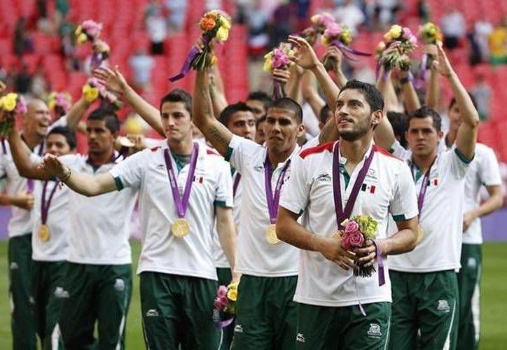 La selección de futbol llevará a 18 deportistas en busca del Bicampeonato Olímpico. (Notimex)