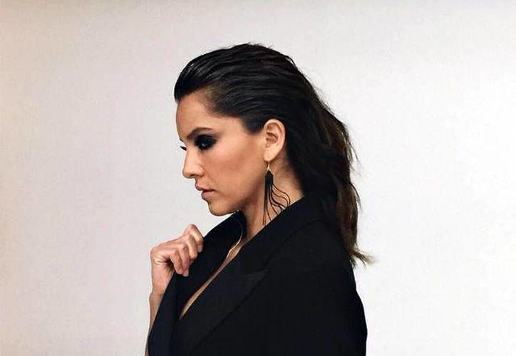 El nuevo look de la actriz Sara Maldonado ha dejado sorprendido a más de un admirador. (Excelsior)