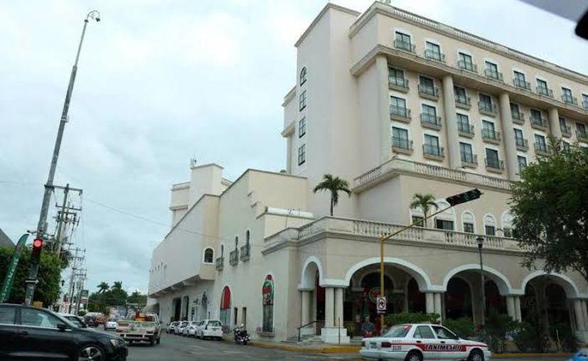 Hoteles a la espera de empezar bien el año. (Foto Novedades Yucatán)