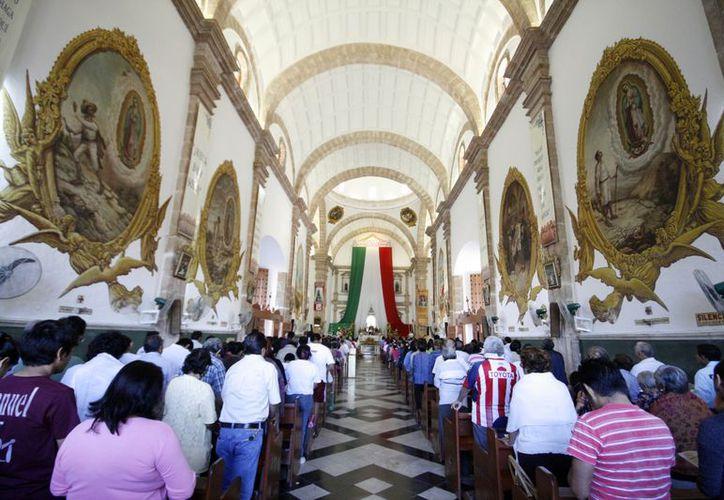 Los yucatecos demuestran cada año su fervor a la Virgen. (SIPSE)