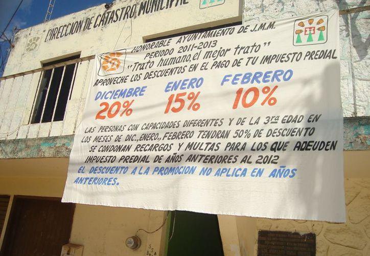 Los morelenses pagan el uso de suelo y la ubicación. (Carlos Yabur/SIPSE)