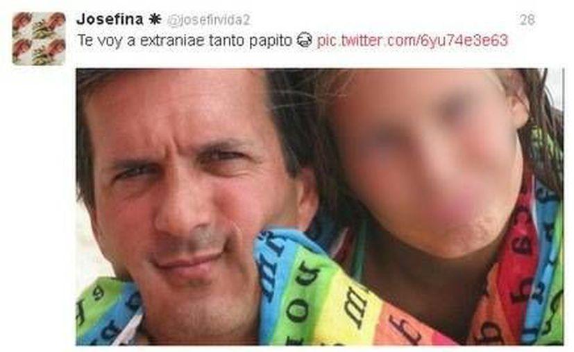 Cientos de usuarios dejaron sus condolencias en la cuenta personal de la joven Josefina. (RT)