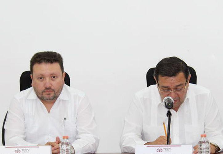 Magistrados del Tribunal Electoral. (Foto: Milenio Novedades)