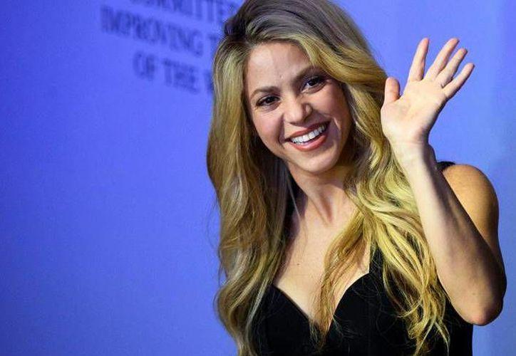 Shakira es defensora de la educación y el desarrollo de la infancia y también fue nombrada como embajadora de buena voluntad de la Unicef.(Notimex)