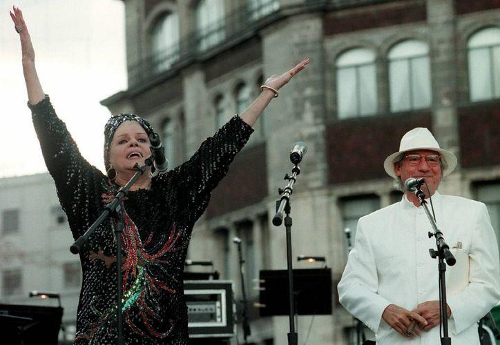Ninón Sevilla ha tenido una larga trayectoria artística que fue impulsada por el cine mexicano. (Foto de archivo de Notimex)