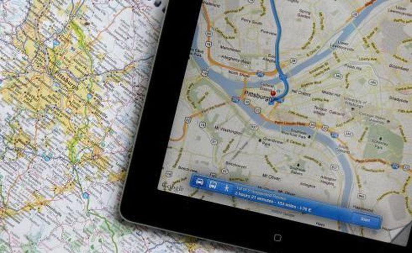 Las GPS dan alternativas tanto para viajar en transporte público, como en auto o a pie. (Agencias)
