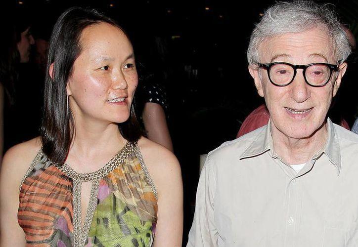 """Woody Allen trabaja en su próxima película, que estará interpretada (nuevamente) por Emma Stone y Joaquin Phoenix. La anterior película de Allen fue la exitosa """"Blue Jasmine"""". (AP)"""