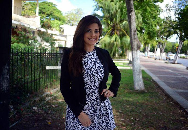 Karla Medina  presidenta de la Comisión Cinematográfica en Yucatán. (Luis Pérez/SIPSE)