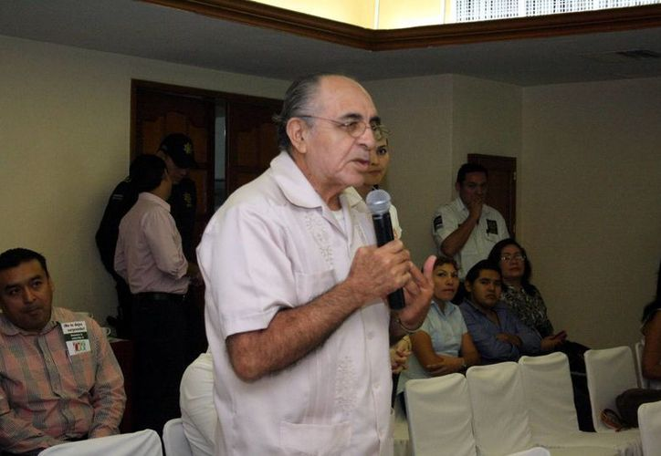 Félix Rubio Villanueva (foto), presidente del Patronato del Gran Parque de La Plancha, habló del proyecto del parque de La Plancha, el cual será presentado en la Expo Foro Ambiental. (Milenio Novedades)
