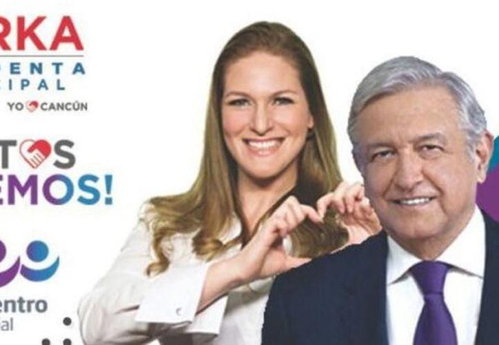 Niurka Sáliva Benítez, excandidata a la presidencia municipal de Benito Juárez por el Partido Encuentro Social (PES), es investigada por el INE por haber excedido los topes de gastos de campaña. (Archivo/SIPSE)
