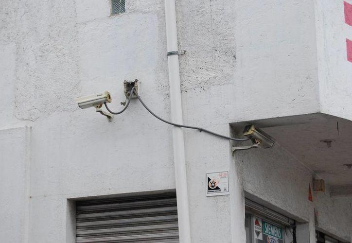 Los micro y pequeños negocios no cuentan con los recursos suficientes para la instalación de seguridad. (Tomás Álvarez/SIPSE)
