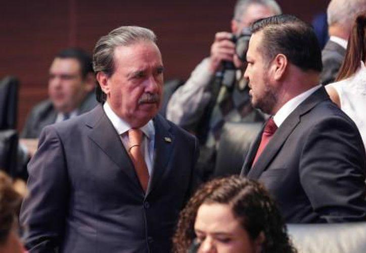 El coordinador del PRI, dijo que Meade ha puesto nerviosos a los otros contendientes. Foto: (El Financiero)