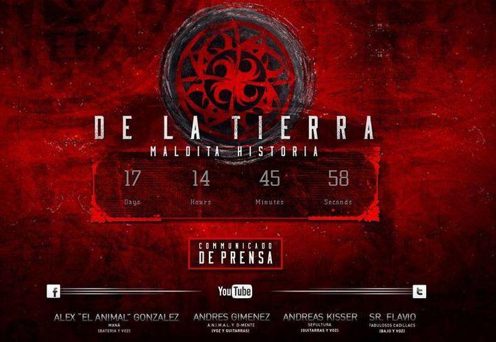 De la Tierra presentará su nueva producción en su sitio electrónico. (delatierramusic.com)