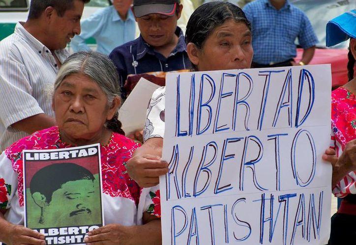 """""""La Iglesia ha insistido en la liberación de Patishtán"""", dijo el prelado. (chacatorex.blogspot.com)"""