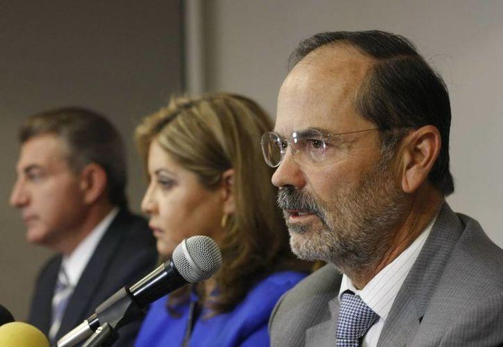 El PRI trató de ganar a la mala en Baja California y no pudo: Madero. (Notimex)