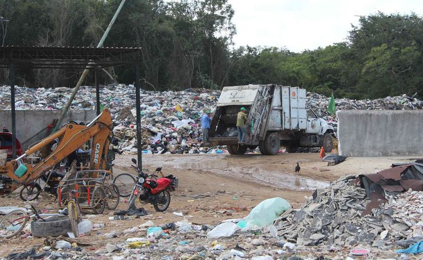 Aseguran que carecen de certeza jurídica sobre la posesión del predio del basurero. (Daniel Tejada/SIPSE)