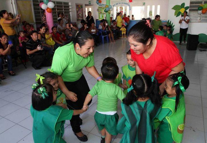 El servicio de guardería se brinda a 380 familias de Mérida. (SIPSE)