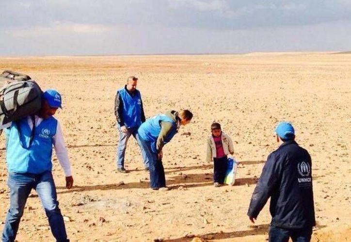 Cada día llegan a Líbano y Jordania niños sirios sin padres, pero Marwan corrió con suerte. (Acnur)