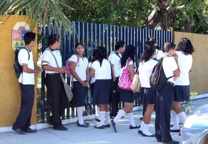 Los alumnos de Cecyte llevarán a cabo el evento para poner en práctica sus conocimientos. (Tomás Álvarez/SIPSE)