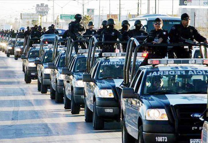 De diciembre de 2012 a octubre de 2013 se detuvo a mil 302 personas por diversos delitos, como posesión de droga, de armas de fuego y explosivos y robo. (Internet)