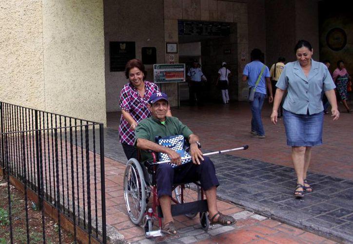 Más de tres mil jubilados sufren alguna discapacidad en el Estado. (Milenio Novedades)