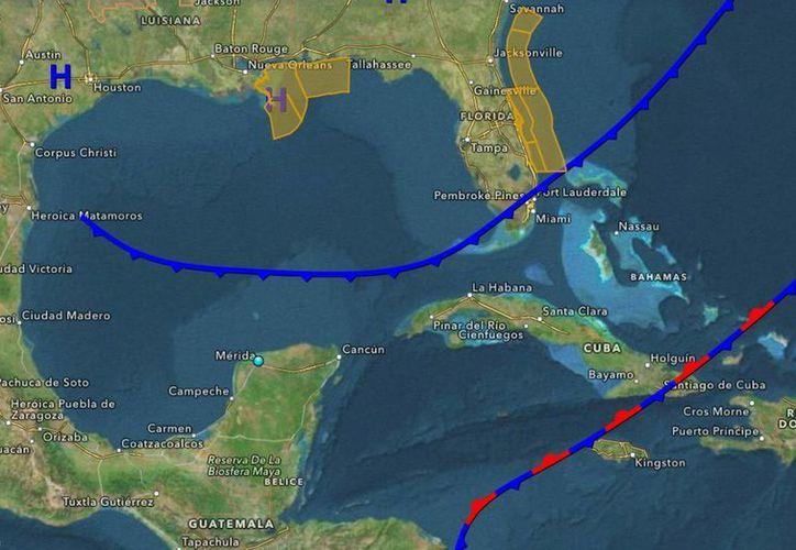 Se prevé que este domingo y lunes sigan las noches y mañanas frescas por la presencia de la masa de aire frío sobre la Península de Yucatán. (Cortesía)