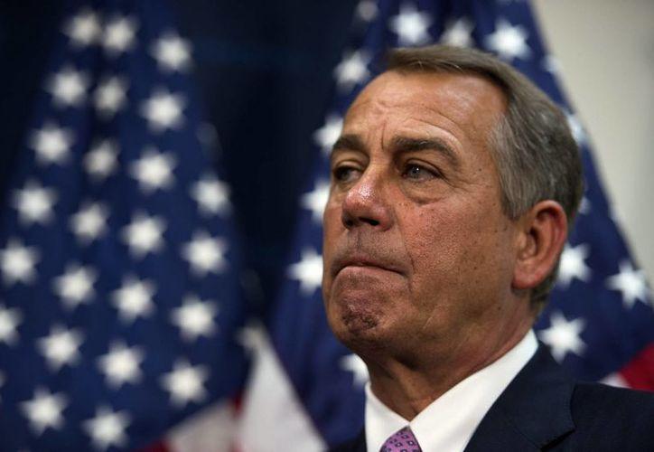 En la imagen, el presidente de la Cámara de Representantes de EU., el conservador John Boehner. (EFE/Archivo)