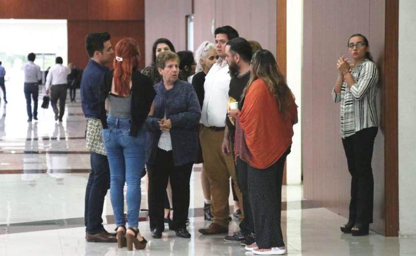 Este jueves se efectuó la audiencia de individualización de las sanciones en el caso de Emma Molina Canto. (Daniel Sandoval)