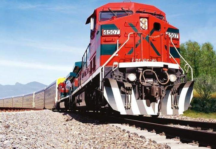 La SCT anunció la inversión de 81 mil 400 millones de pesos en proyectos ferroviarios. Imagen de contexto, para fines ilustrativos. (cargaymar.mx)