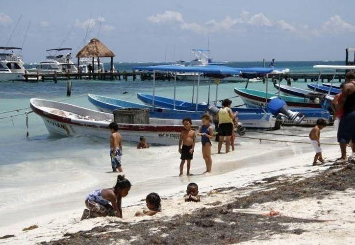 La belleza de Puerto Morelos es evidente, por eso es uno de los destinos preferidos. (Archivo/SIPSE)
