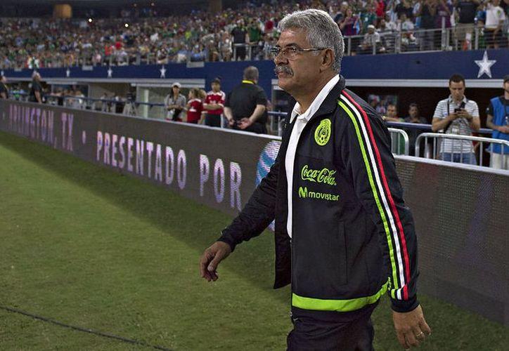 Ricardo Ferretti, el actual el actual timonel de los Tigres, estará al frente de la selección por tercera ocasión en forma interina.   (Milenio)