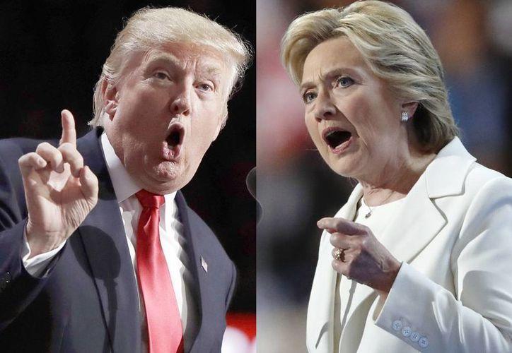 La ventaja de Hillary Clinton sobre Trump es atribuida al impulso que recibió tras la convención de partido demócrata. (AP)
