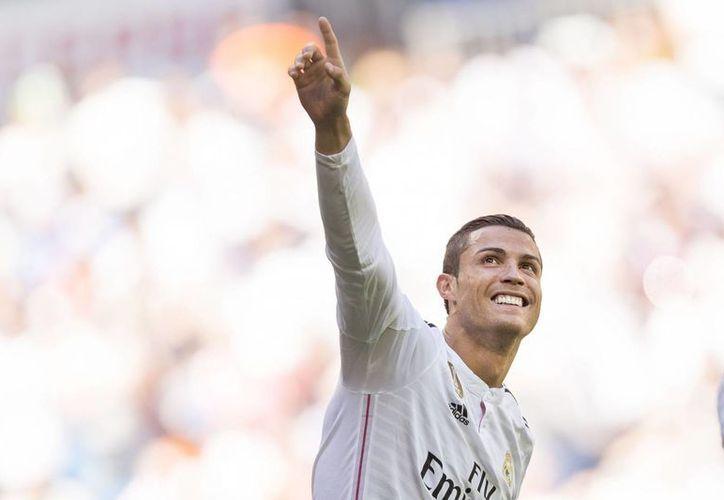 Cristiano Ronaldo no tuvo piedad con el Granada. (AP)