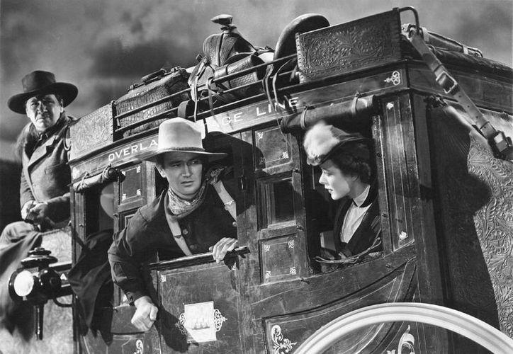 'La diligencia' fue rodada justo cuando se consideraba que el western estaba pasado de moda. (bandejadeplata.com)