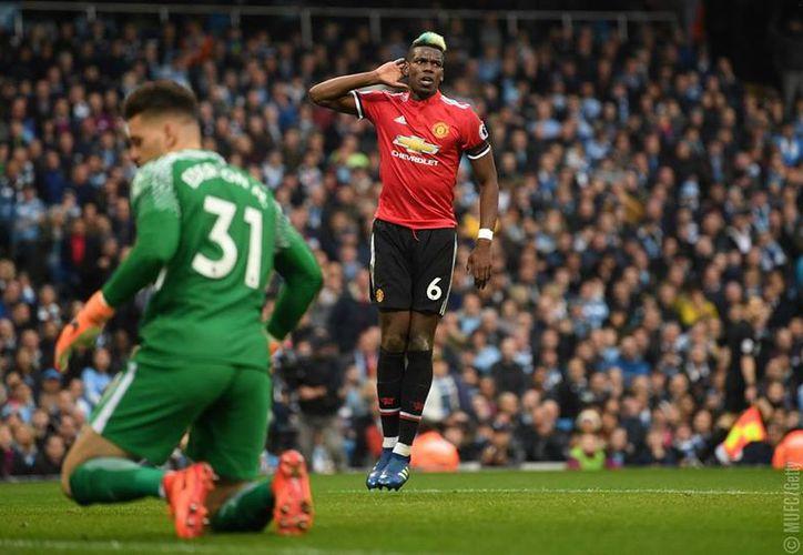 El City se demoró 25 minutos en romper el cero en el Etihad Stadium. (AFP)
