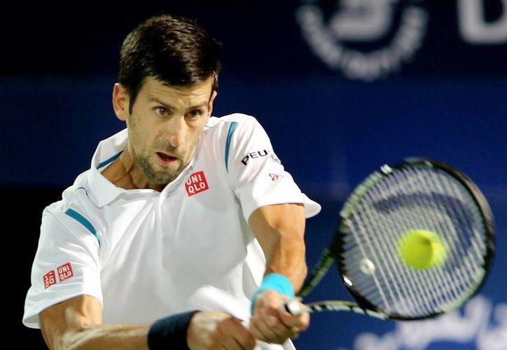Novak Djokovic finaliza su racha de 17 finales seguidas, debido al abandono que realizó en Dubai.(AP)