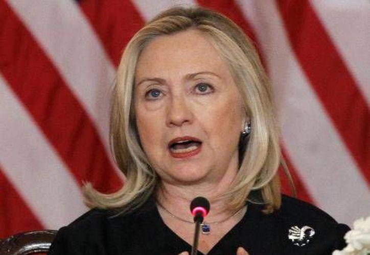 El libro también revela las aspiraciones de Clinton para ser candidata a la presidencia las próximas elecciones  en 2016. (usatoday.net)