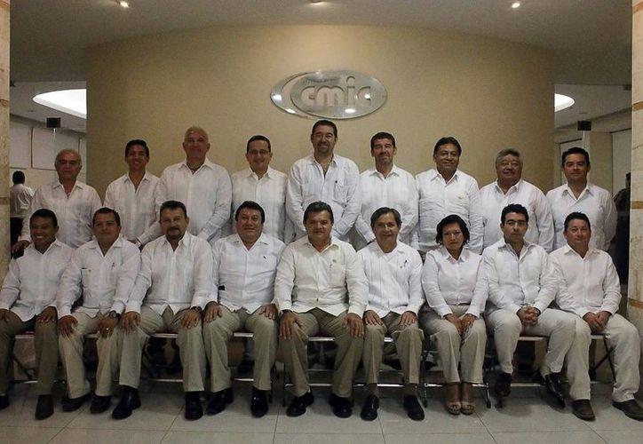 La CMIC Yucatán realizó su asamblea general este viernes. (Milenio Novedades)