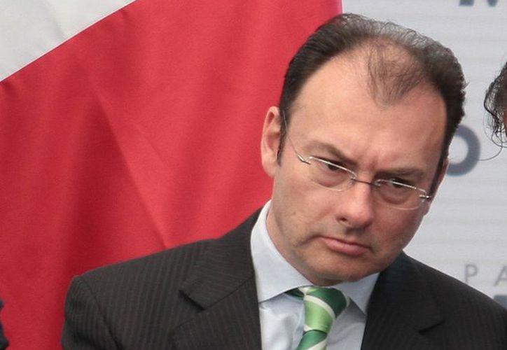 Videgaray: se requiere una mayor penetración del crédito, sin poner en riesgo el desarrollo de la economía. (Notimex)