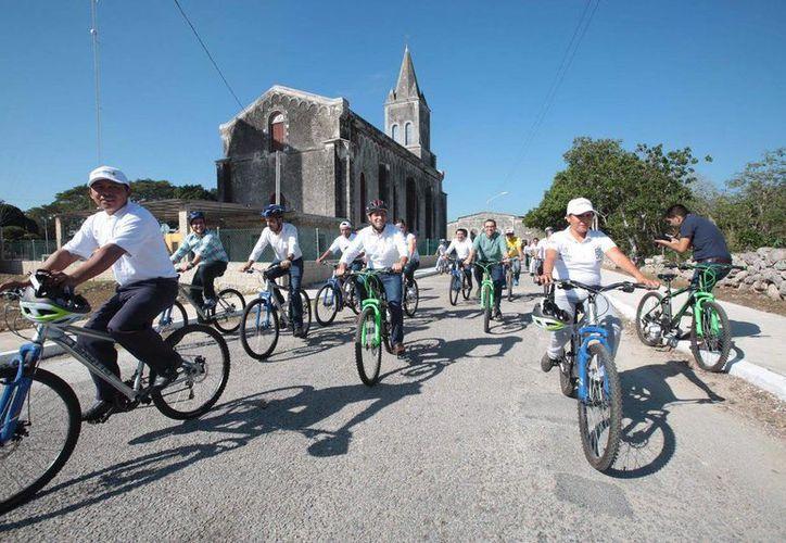 Las nuevas rutas ecoturísticas en la comisaría de Xcunyá permitirán que sus habitantes tengan más ingresos económicos. (Fotos cortesía del Ayuntamiento)