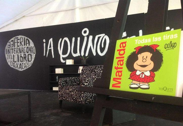 Ante la imposibilidad de salir de Argentina, Quino envió un video para estar presente en la FILO. (Facebook oficial)