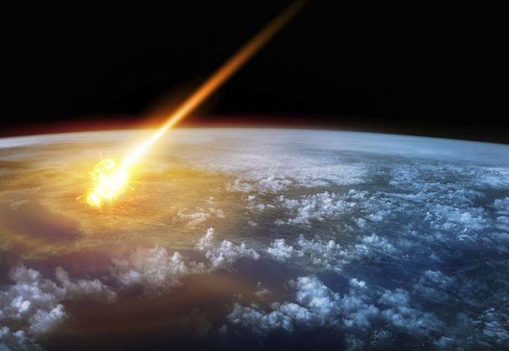 El supuesto meteorito produjo una onda expansiva que se sintió como una explosión. (Foto: Contexto/Internet)