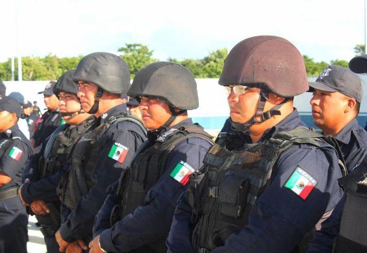 La Policía Municipal de Solidaridad contará con más recursos, que serán dotados por el Fortaseg. (Daniel Pacheco/SIPSE)