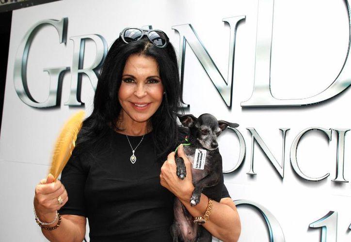 María Conchita Alonso debía presentarse esta noche en Guadalajara, como parte del espectáculo 'GranDiosas', junto a Rocío Banquells, Dulce y Karina. (Notimex)